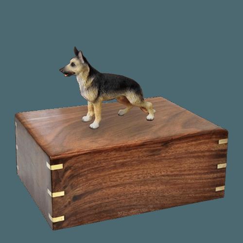 Standing German Shepherd Large Doggy Urn