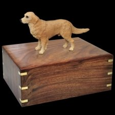 Standing Golden Retriever Doggy Urns