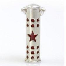 Star Cremation Keychain Urn