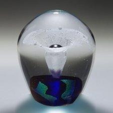 Star Geyser Glass Cremation Keepsake