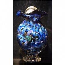 Star Rain Glass Cremation Urn