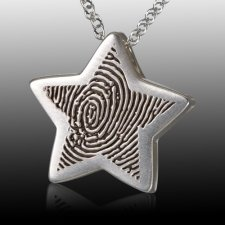 Star Cremation Print Keepsakes