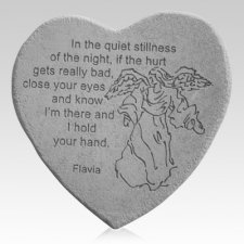 Stillness Angel Heart Stone