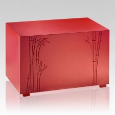 Strength Bamboo Cremation Urn