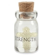 Strength Bottle Keepsake Charms