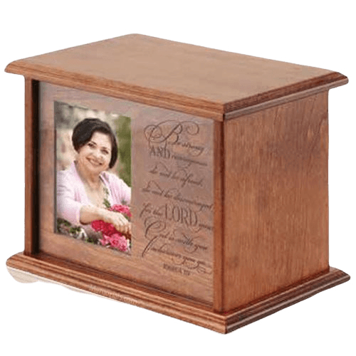 Strength Wood Cremation Urn