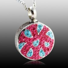 Sunburst Cremation Pendant