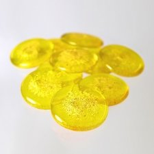 Sunny Yellow Cremation Touchstones