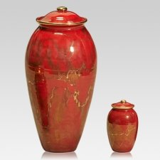 Sunset Ceramic Cremation Urns