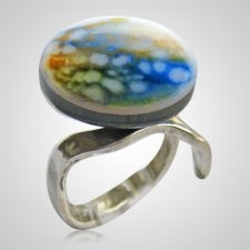 Sunset Memorial Ashes Ring
