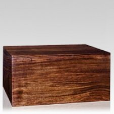 Superb Wood Cremation Urn