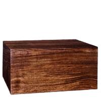 Superb Wood Cremation Urn