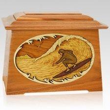 Surfer Mahogany Aristocrat Cremation Urn