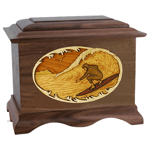 Surfing Cremation Urn