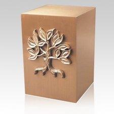 Surreal Tree Bronze Cremation Urn