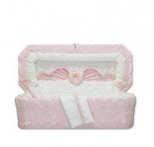 Sweetheart Pink Premie Child Casket