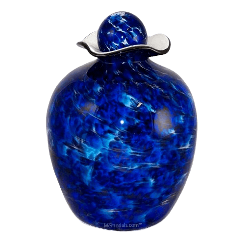 Swell Glass Cremation Urn