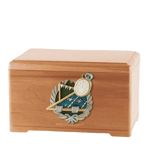 Swimming Light Cherry Cremation Urn