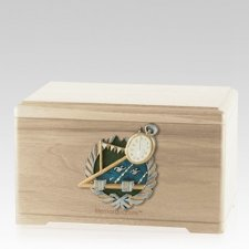 Swimming Maple Cremation Urn
