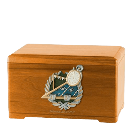 Swimming Oak Cremation Urn