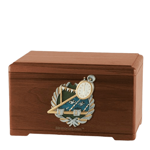 Swimming Walnut Cremation Urn