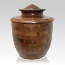 Sylvan Wood Cremation Urn