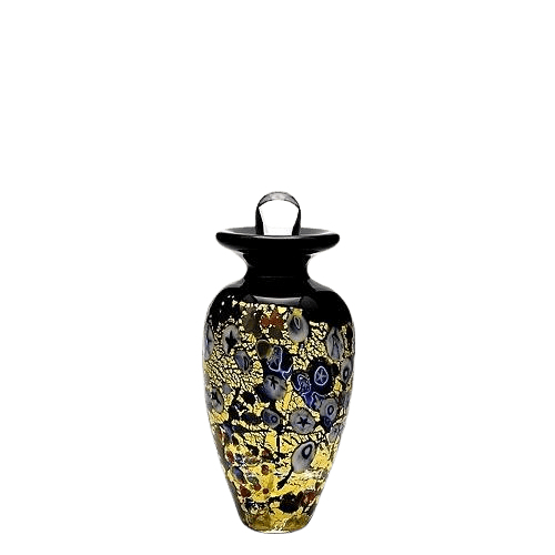 Symbolist Glass Keepsake Cremation Urn