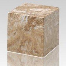 Syrocco Cube Keepsake Cremation Urn