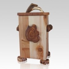Rapunzel Juniper Natural Urn