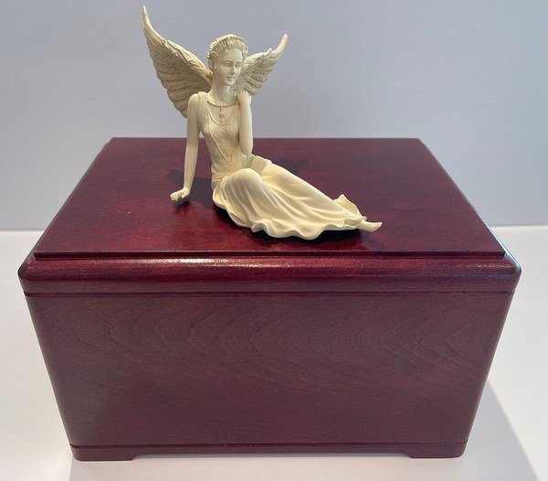Peaceful Angel Cremation Urn