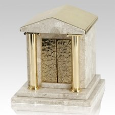 House Of God White Danby Marble Urn