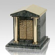 House Of God Vert Jade Granite Cremation Urn
