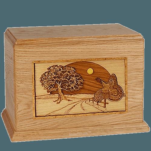 Turkey Oak Companion Urn