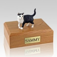 Tabby Standing X Large Cat Cremation Urn