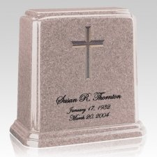 Tablet Cream Marble Urn