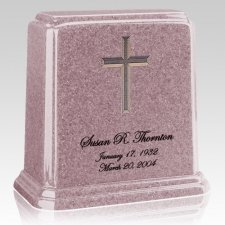 Tablet Rose Marble Urn