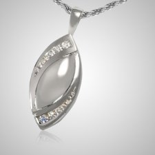 Tear Slider Cremation Pendant