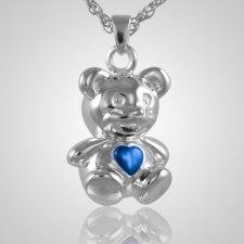 Teddy Bear Blue Keepsake Jewelry