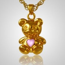 Teddy Bear Pink Keepsake Jewelry IV