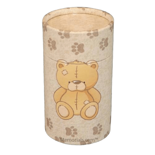 Teddy Bear Scattering Biodegradable Urn