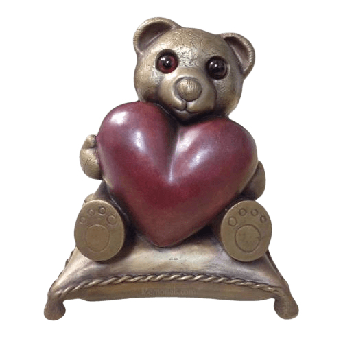 Teddy Bear Cremation Urn