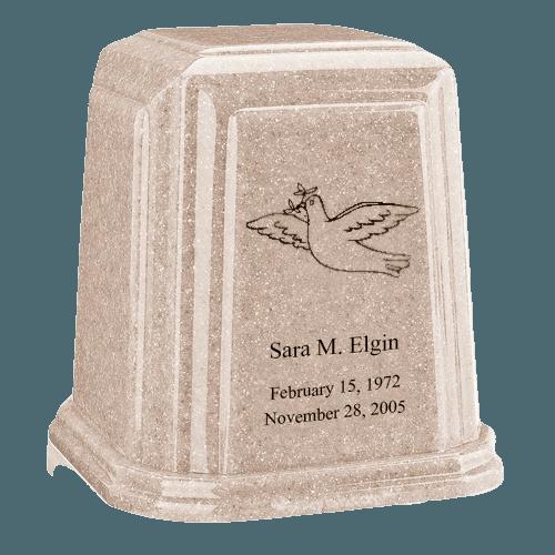 Temple Millennium Sand Marble Urn