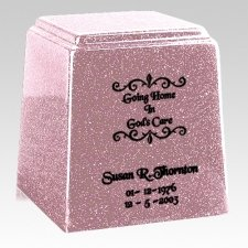 Temple Niche Lavender Marble Urn