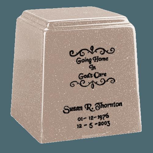 Temple Niche Sand Marble Urn