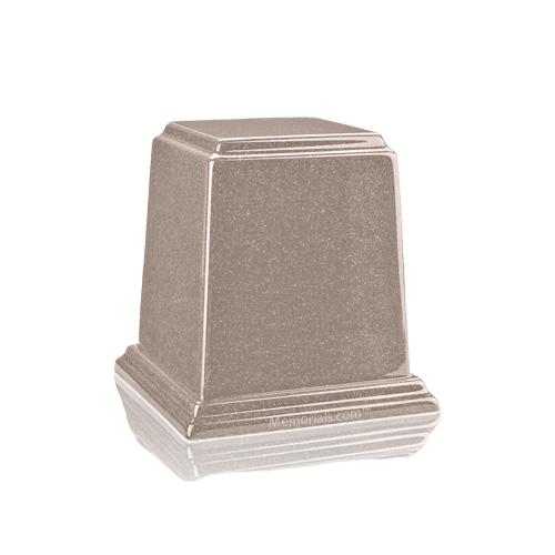 Temple Cream Mini Marble Urn