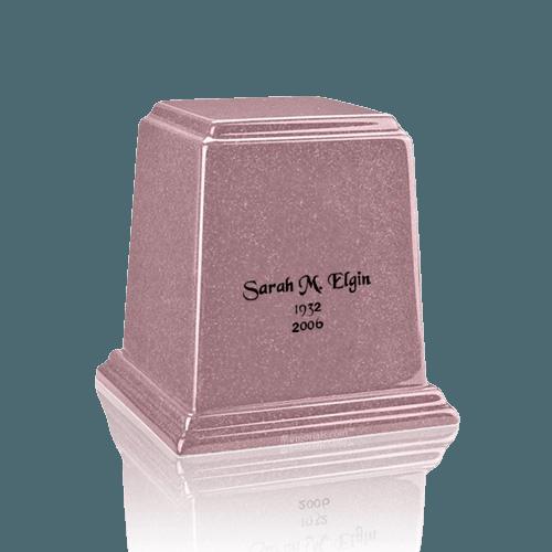 Temple Rose Keepsake Marble Urn