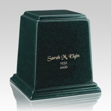 Temple Emerald Medium Marble Urn