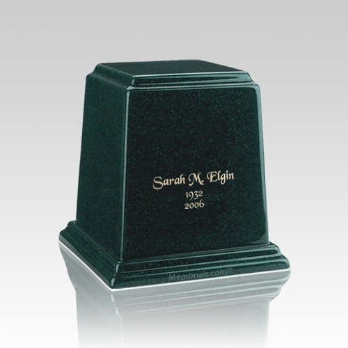 Temple Emerald Keepsake Marble Urn