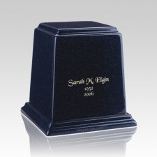 Temple Sapphire  Blue Small Marble Urn