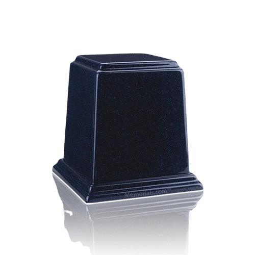 Temple Sapphire Blue Mini Marble Urn